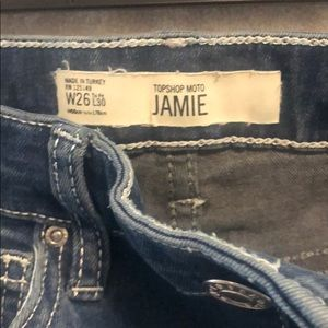Top shop moto Jamie Jean